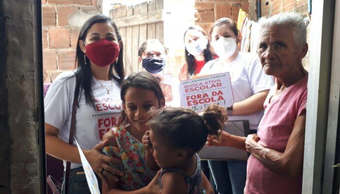Limoeiro realiza trabalho integrado de busca ativa dos estudantes da Rede Municipal