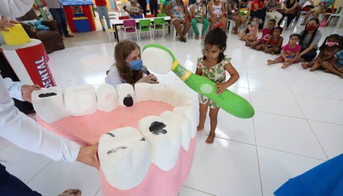 Em Limoeiro, Semana do Bebê assegura desenvolvimento da primeira infância